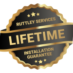 Ruttley Services Lifetime Guarantee